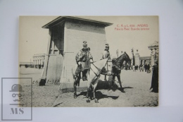 Antique Postcard Madrid - Royal Palace - Royal Mounted Guards - Edited C. A. Y L. -  Horse - Madrid