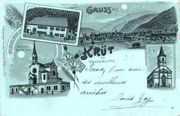 68 GRUSS KRUT KRUTH HAUT RHIN ALSACE WESSERLING - France