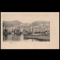 GREECE 1920s MAILED POSTCARD LE SYRA - Lettres & Documents