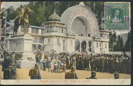 °°° 10958 - COLOMBIA - BOGOTA - EXPOSICION DE 1910 PABELLON DE INDUSTRIAS - 1911 With Stamps °°° - Colombia