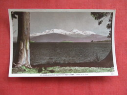 MT. Ruopehu New Zealand ---------Postcard Size  Blank Back Photo-------  Ref 2916 - New Zealand