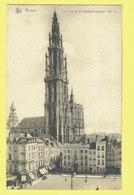 * Antwerpen - Anvers - Antwerp * (Nels, Ern Thill, Nr 141) La Flèche De La Cathédrale, Animée, Rare, Café Du Nord, Old - Antwerpen