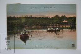 Antique Postcard Puigcerda - Girona - The Lake - Le Lac - Edited Berdagué Mary Bernard Nº 435 - Gerona