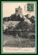 CPA Environs De Vireux Le Château D' Hierges Animée Voy 1913 (voir !) - France