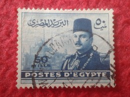 SELLO USADO USED STAMP EGIPTO POSTES D'EGYPTE 50 MILLS VER FOTO/S Y DESCRIPCIÓN. TENGO MÁS SELLOS, VER - Egypt