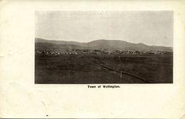 New Zealand, WELLINGTON, Town View (1910s) Postcard - New Zealand