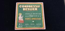 COMPRESSIF BESLIER Hernie Ombilicale BEBE NOUVEAU NES Pharmacie Pharmacien M COQUELU DIGOIN 71 Médecine - Matériel Médical & Dentaire
