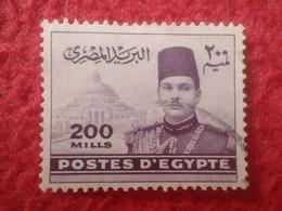 SELLO USADO USED STAMP EGIPTO POSTES D'EGYPTE 200 MILLS VER FOTO/S Y DESCRIPCIÓN. TENGO MÁS SELLOS, VER - Egypt