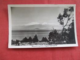 Mts Ruapehu Ngauruhoe  & Tongariro  New Zealand ---------Postcard Size  Blank Back Photo-------  Ref 2916 - New Zealand