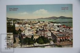Antique Postcard Canary Islands - Gran Canaria Las Palmas - General View - Gran Canaria