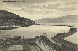 New Zealand, LYTTELTON, Harbour Scene (1910s) Muir & Moodie Postcard - New Zealand