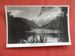 Lake Matherson  New Zealand ---------Postcard Size  Blank Back Photo-------  Ref 2916 - New Zealand