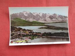 Queenstown  New Zealand ---------Postcard Size  Blank Back Photo-------  Ref 2916 - New Zealand