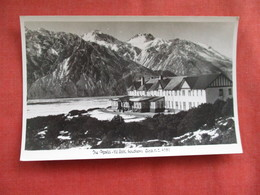 The Hostel Mt  Cook  Southern Alps New Zealand ---------Postcard Size  Blank Back Photo-------  Ref 2916 - New Zealand