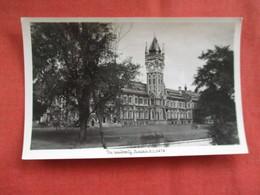 The University Dunedin New Zealand ---------Postcard Size  Blank Back Photo-------  Ref 2916 - New Zealand