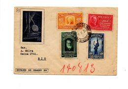 MK503 - BRASILE 1939,  Lettera Per Rio. Expo New York - Brésil