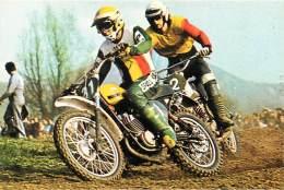1976 - MOTOS - Motocrosss - Harrie Everts (31) Hans Maisch -  (scan Recto-verso) FRCR91154 - Motorräder