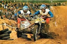 1976 - MOTOS - Motocrosss - Ton Van Heugten/Dick Steenbergen -   (scan Recto-verso) FRCR91154 - Motorräder