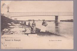Souvenir De Maaseyck    Le Pont Et La Meuse. - Maaseik