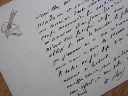 Arthur RANC (1831-1908) Journaliste. COMMUNE DE PARIS 1871. Maire PARIS 9ème. Autographe - Autografi