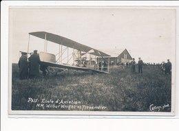 PAU : Mm. Wilbur Wright Et Tissandier - Tres Bon Etat - Pau