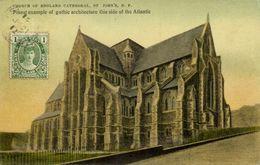 Canada, St. JOHN'S, Newfoundland, Church Of England Cathedral (1912) Postcard - St. John's