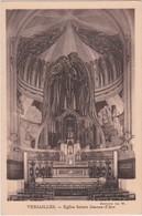 Bg - Cpa VERSAILLES - Eglise Sainte Jeanne D'Arc (carte Du Chanoine Subtil) - Versailles