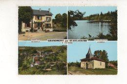 GRANDMONT Par ST SYLVESTRE(carte Photo) - France