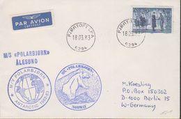 Norway Polarbjorn Ca Fjortoft LPA 18.03.83 Cover (38451) - Poolshepen & Ijsbrekers