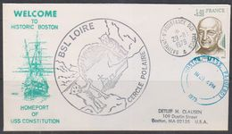 France 1979 Welcome To Historic Boston / BSL Loire Ca 29 II 79 Cover (38452) - Poolshepen & Ijsbrekers
