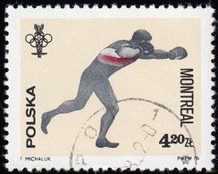 POLAND - Scott #2169 Montréal '76 Olympic Games,  Boxing (*) / Used Stamp - Summer 1976: Montreal