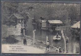 Carte Postale 91. Brunoy  Les Bords De L'Yerres  Trés Beau Plan - Brunoy