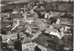 59 -SAILLY LEZ LANNOY - GRAND PLACE - L EGLISE - VUE AERIENNE ( CPSM GRAND FORMAT CIM ) - Autres Communes