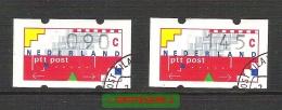 Automaatstrook Klussendorf AU 10 En AU 15 Gestempeld  Cw 3,90 - Autres