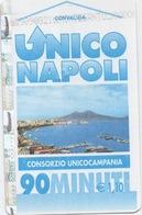 Ticket Métro : UNICO NAPOLI : Naples Italie : Euro 1,10 / 90 Minutes : 09/09/2008 - Subway