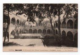 """A005- Collège St Vincent Des Pères Lazaristes Damas SYRIE -Edition De La """"vie Au Patronage"""" - Syria"""