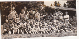 Ancienne Photo / Chaumont (52) / Les 45 Enfants (Ecoles, Colonie ?) / Fin Années 50 - Orte