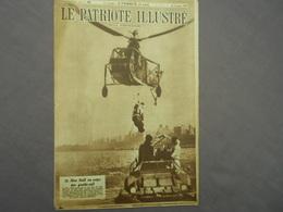 Le Patriote Illustré 16/12/1945 Allemands La Guerre Avion Militaire Camp D' Hofstade Bij Aalst Radar - Books, Magazines, Comics