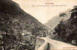 ROUTE DES GORGES DU TARN PRES LES BAUMES - France