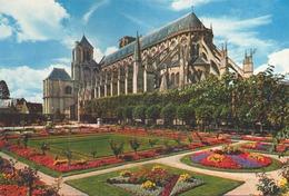 BOURGES JARDIN DE L HOTEL DE VILLE - Bourges