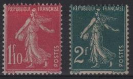 FR 129 - FRANCE N° 238/39 Neuf* Semeuse - 1906-38 Semeuse Camée