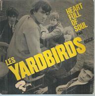 "45 Tours EP - LES YARDBIRDS   -  BARCLAY 231099 -   "" HEART FULL OF SOUL "" + 3 - Vinyl Records"