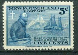 BM Neufundland 1941   MiNr 239   MNH   50 Jahre Grenfell Labrador Mission - 1908-1947