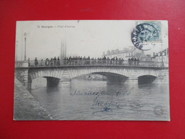 CPA 18 BOURGES PONT D'AURON ANIMEE - Bourges