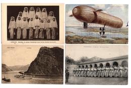LOT  DE 48 CARTES  POSTALES  ETRANGERES  N37 - Postcards