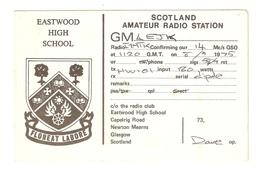 CT--02458-- CARTOLINA - SCOTLAND -EASTWOOD HIGH SCHOOL - 1975 - CB