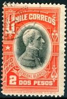 CILE, CHILE, COMMEMORATIVO, INDIPENDENZA, GENERAL BLANCO ENCALADA, 1910, FRANCOBOLLI USATI Yvert Tellier 83… Scott 95 - Chile