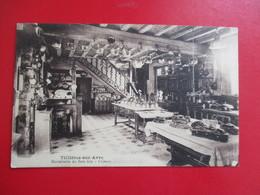 CPA 27 TILLIERES SUR AVRE HOSTELLERIE DU BOIS JOLY CUISINE MENU REVEILLON 24 DECEMBRE 1927 - Tillières-sur-Avre