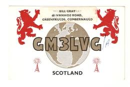 CT--02459-- CARTOLINA - SCOTLAND - GREENFAULDS,CUMBERNAULD- 1972 - CB
