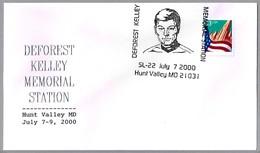 DEFOREST KELLEY. Leonard McCoy De STAR TREK. Hunt Valley MD 2000 - Cinema